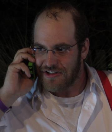 marc-backyard-phone